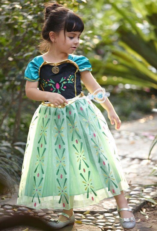 Платье Анны коронация Холодное сердце рост 130